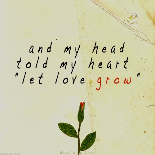 let it grow…