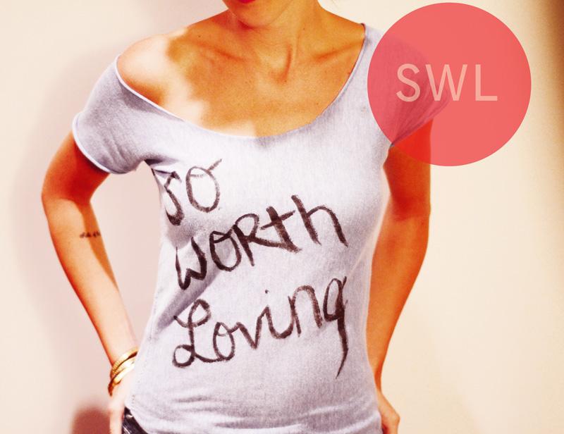 hand-sewn tshirt!