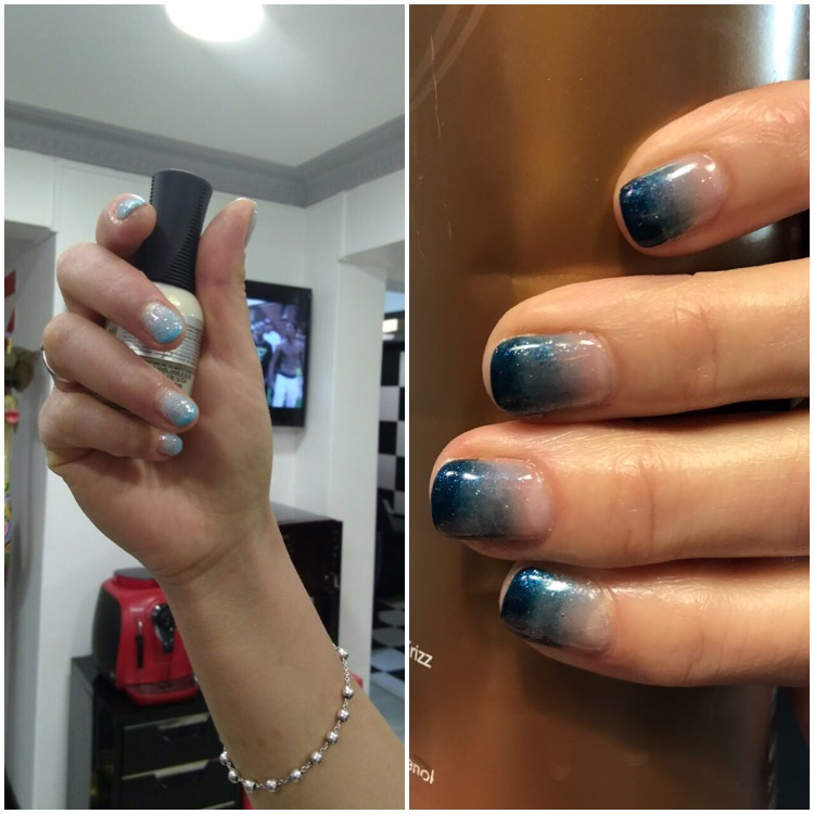 Manicure Dregradé: Maria Teresa Torres