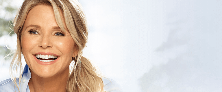 Christie Brinkley as the new face of Ultherapy