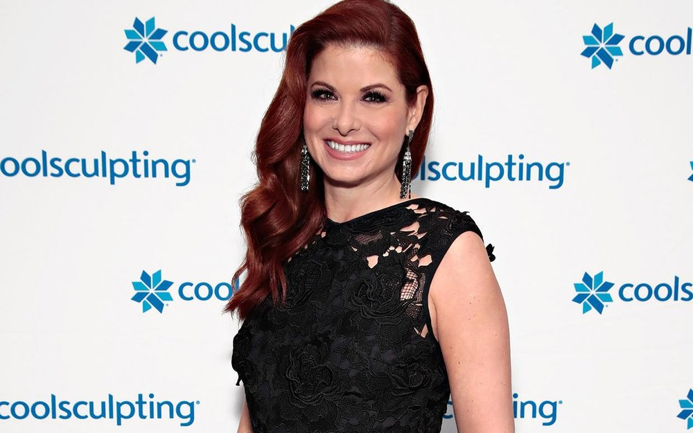 Debra Messing photo shoot for CoolSculpting endorsement campaign