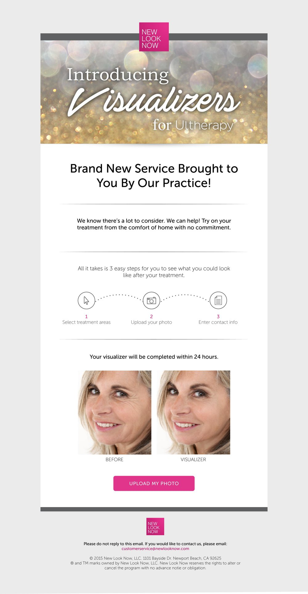 Copy of Introducing Visualizers Email (Ultherapy)