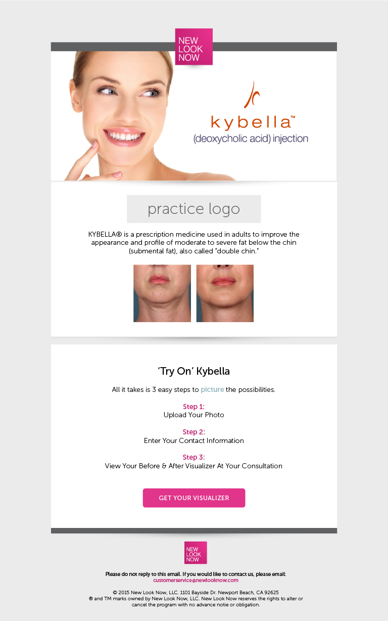 """Copy of """"Try On"""" Kybella Email"""