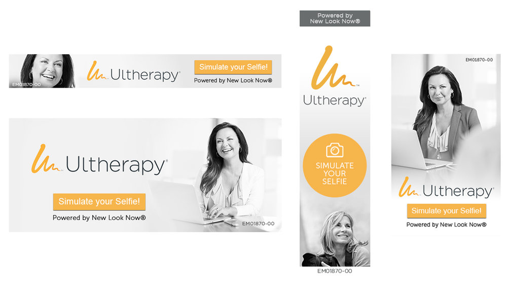 Ultherapy Web Banner Pack - Download your New Look Now® web banners, for use with the Ultherapy Visualizer! Upload any of the enclosed sizes as a banner on your website with a click through to your custom consumer link.