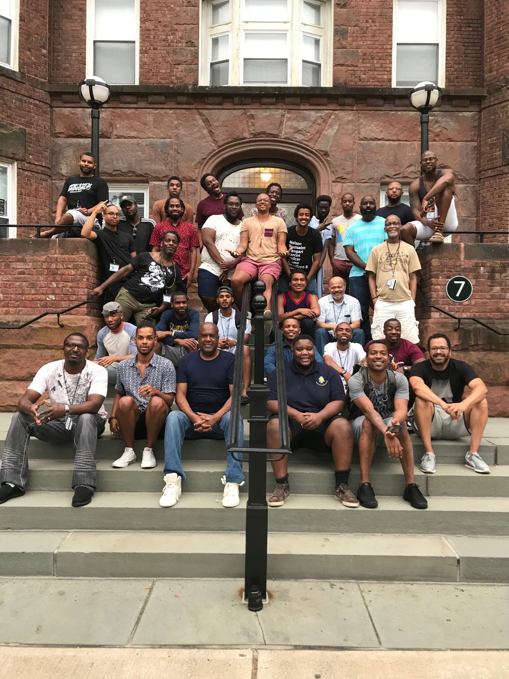 "Participants from ""Imagining Otherwise"" a camp faciliated by BEAM for the African American Policy Forum"