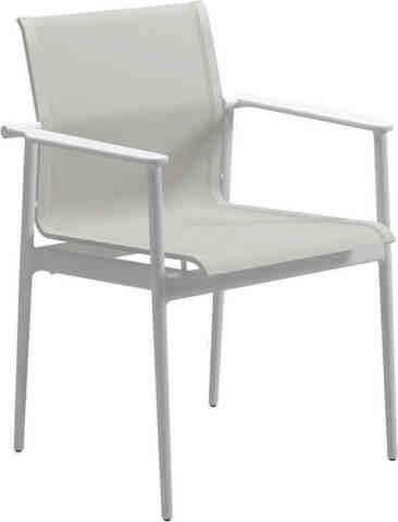 Gloster 180 Dining Chair, White