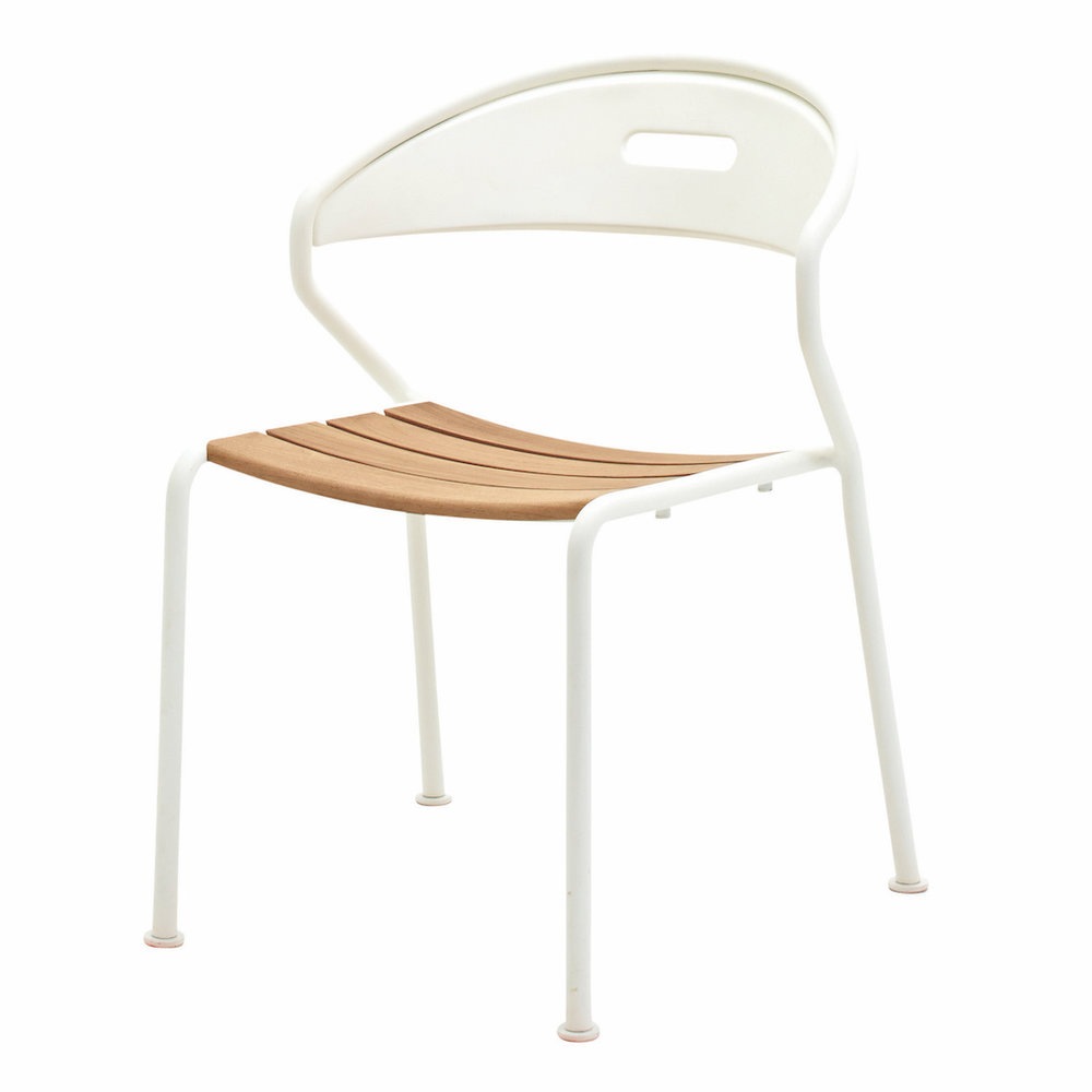 Gloster Curve Chair, White