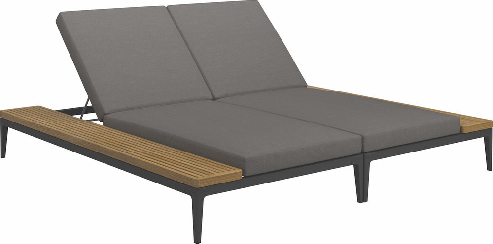 Grid Double Lounger