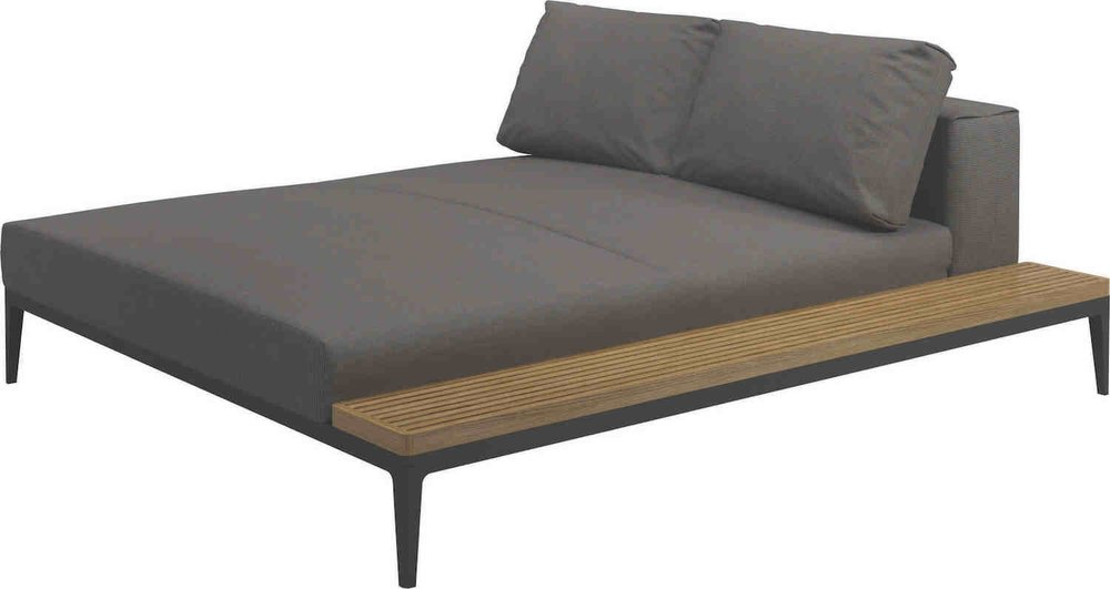 Grid Left/Right Chill Chaise Unit