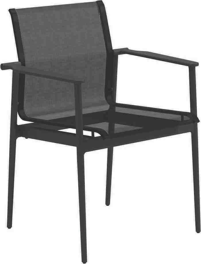 Gloster 180 Dining Chair, Meteor