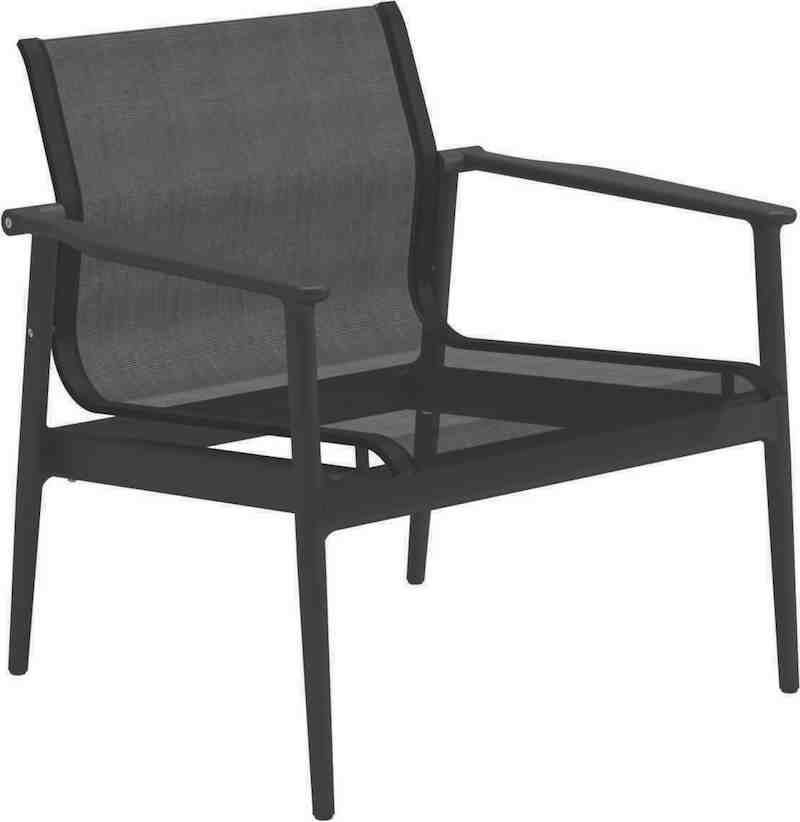 Gloster 180 Lounge Chair, Meteor