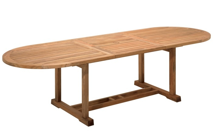 "Large Oval Extension Table (38.5"" x 84.5-114"")"