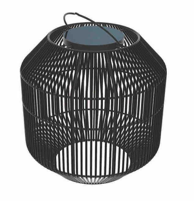 Gloster Nest Solar Lantern, Steel