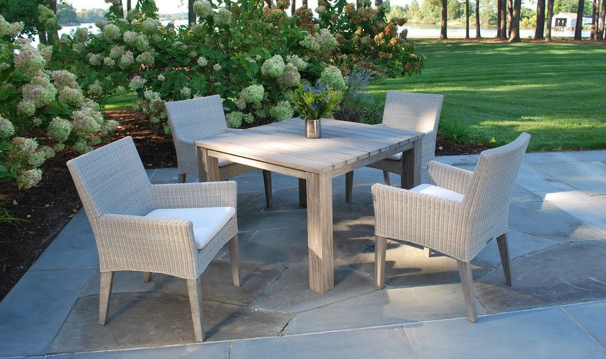 Paris Chairs + Provence Table - Kingsley-Bate Page — Thayer's Hardware & Patio