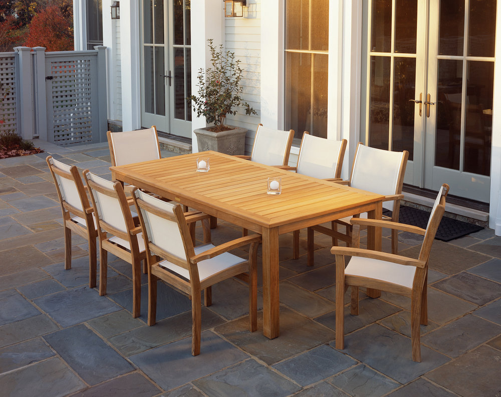 St. Tropez Chairs + Wainscott Table