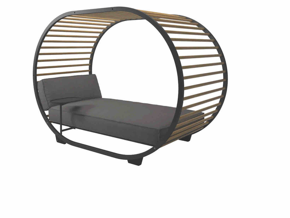 Gloster Cradle Daybed, Meteor Frame