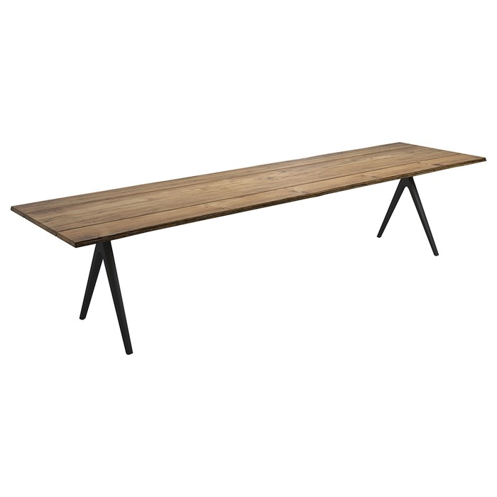 "Gloster 138"" Raw Table, Sap Wood Edge"