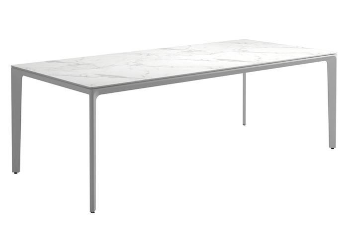 "Bianco Ceramic + White Base, 86.5"""