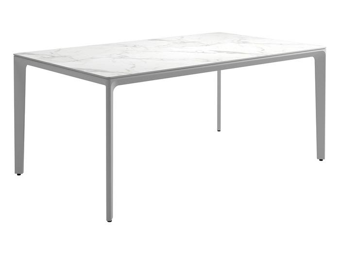 "Bianco Ceramic + White Base, 67"""