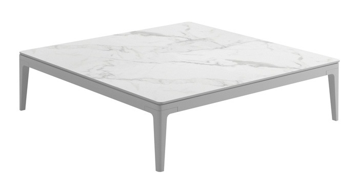 Square Coffee Table, Bianco/White