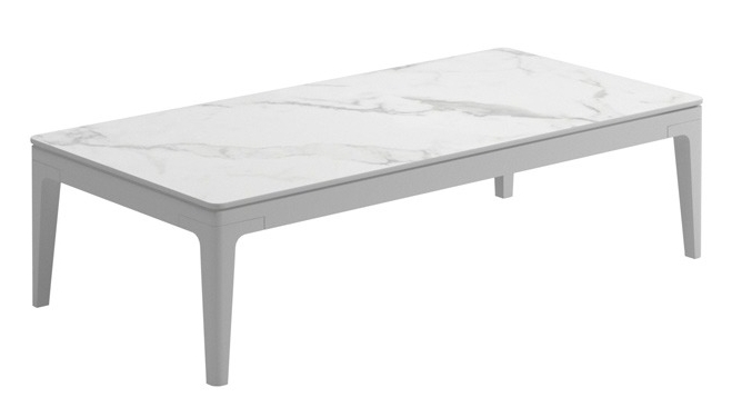 Small Coffee Table, Bianco/White