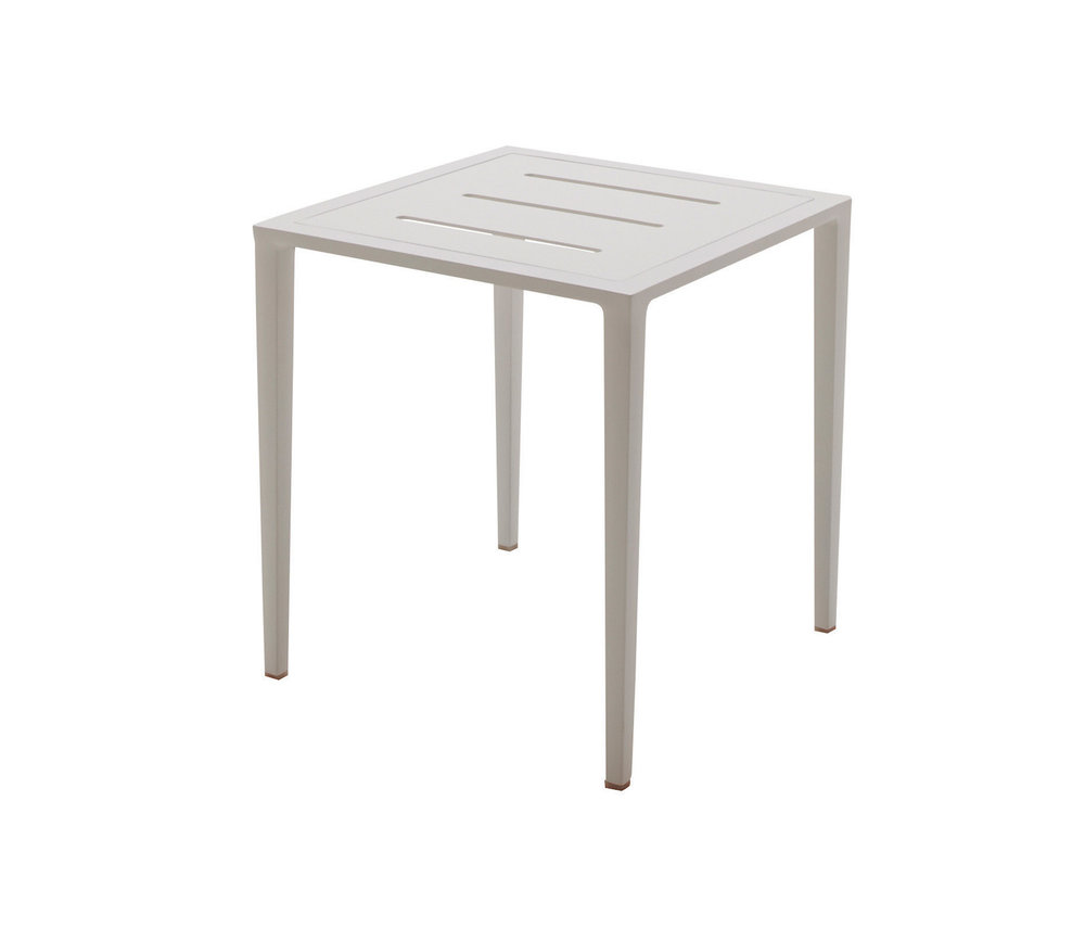 Vista Side Table, White