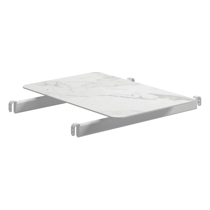 Center Modular Table, Bianco + White