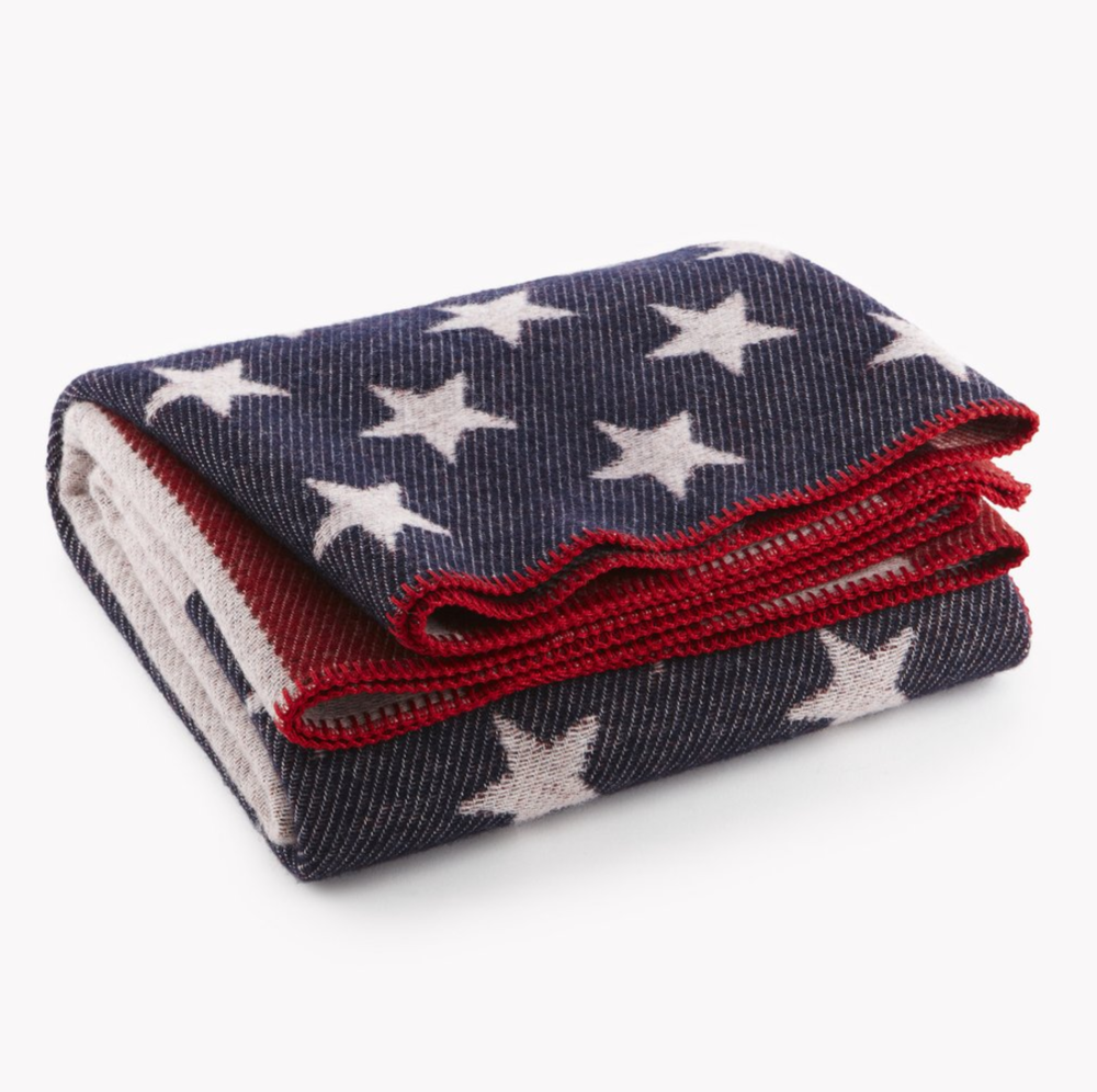 Faribault Mill Flag Blanket