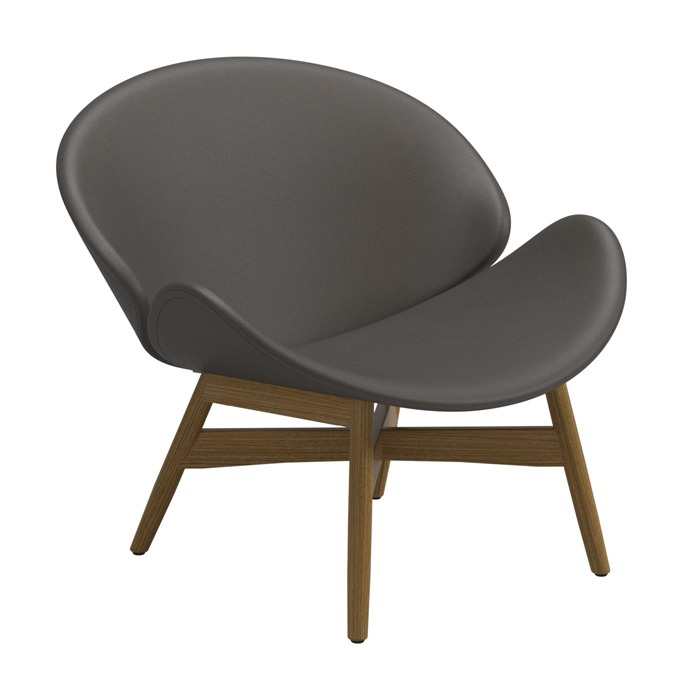 Gloster Dansk Lounge Chair, Grey