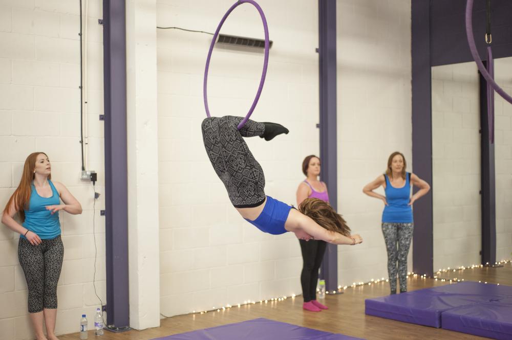 Aerial Hoop (Lyra)