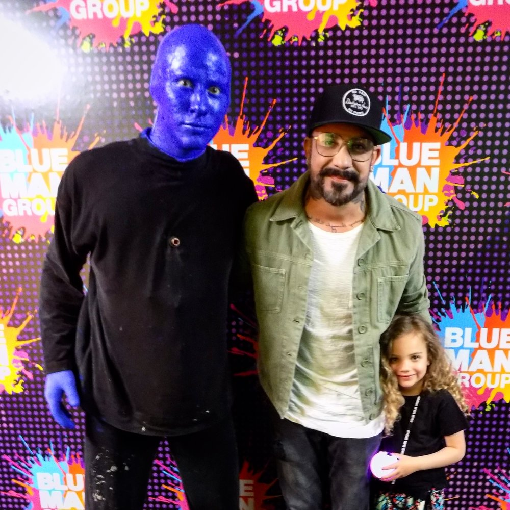 Me with A.J.Mclean (Backstreet Boys)