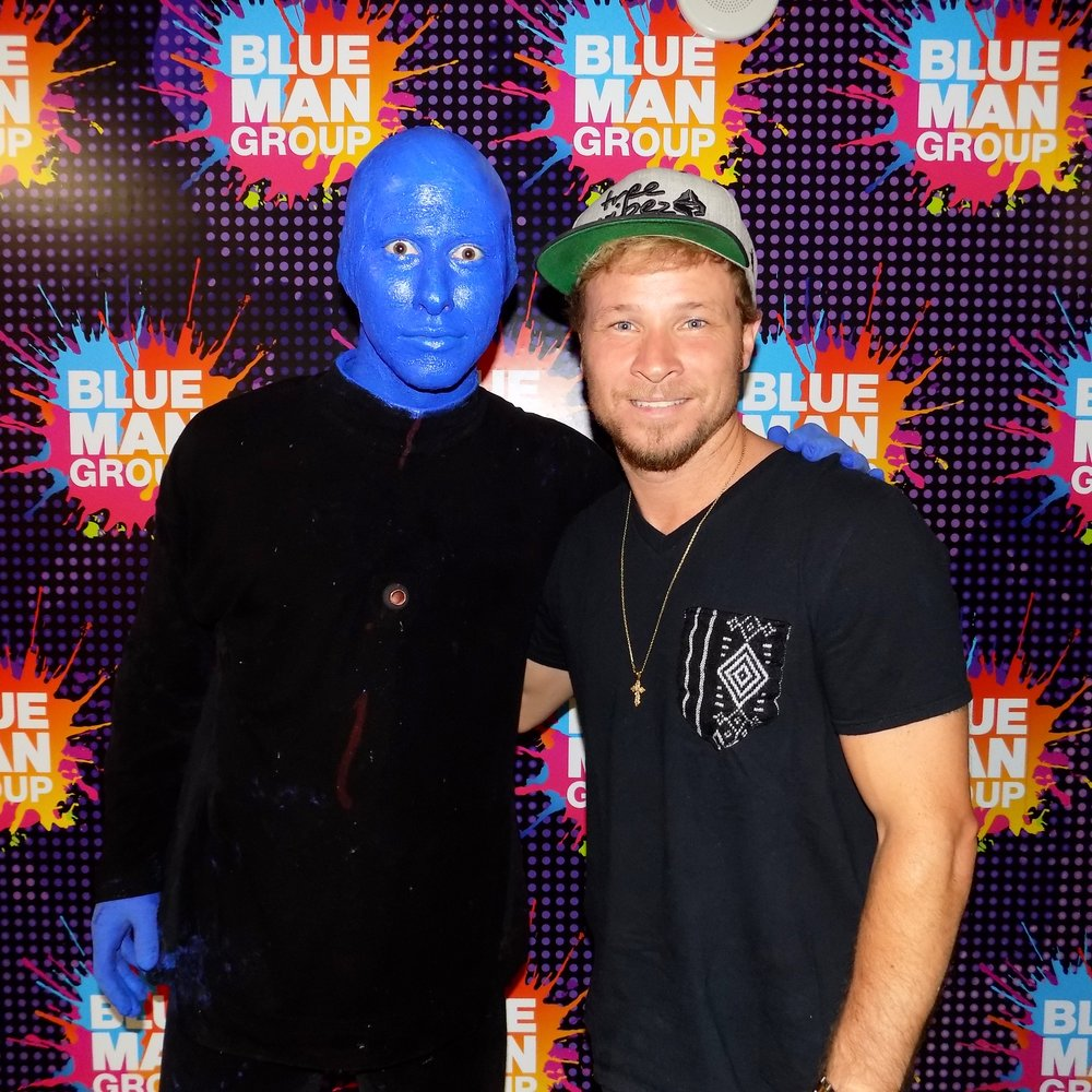 Me with Brian Littrell (Backstreet Boys)