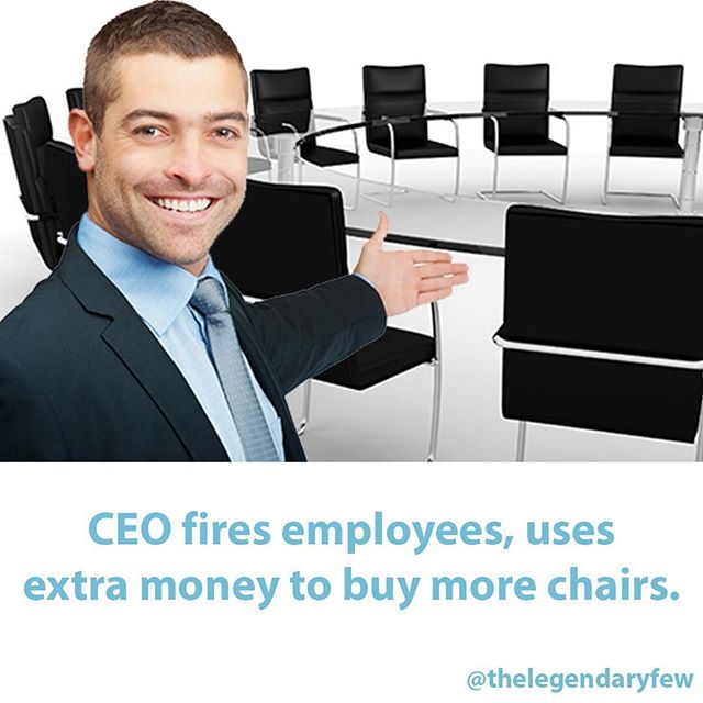 TAG your co-workers! 🏢🏢 #thelegendaryfew * * * #ceo #chairs #baddecisions #officespace #officedecor #boardroom #success #smallbusiness #hardwork #startup #advice #money #entrepreneur #businesslife #smallbusinessowner #meme #fakenews