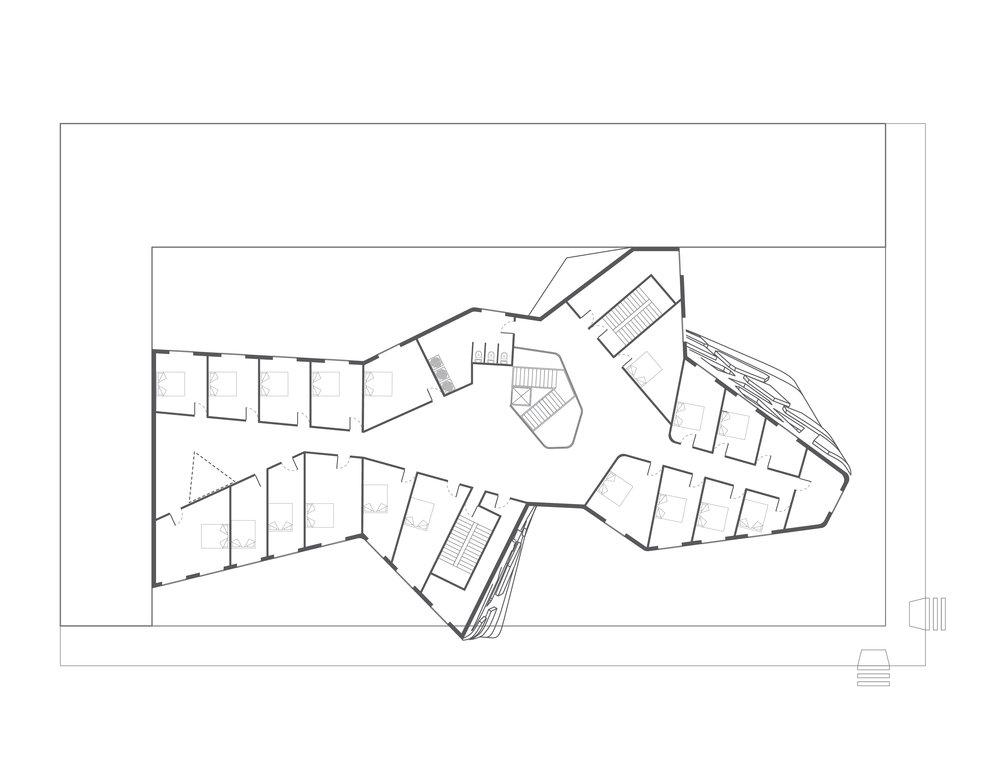 Floor 3-5 Typical Plan