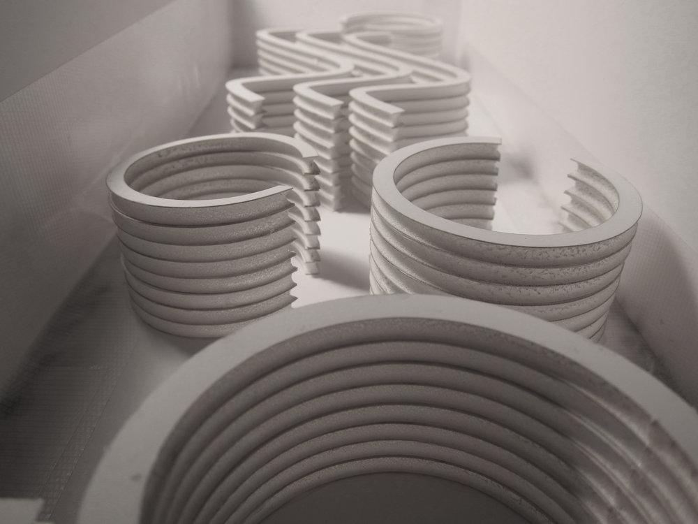 Spatial Study Model | Plaster Mold