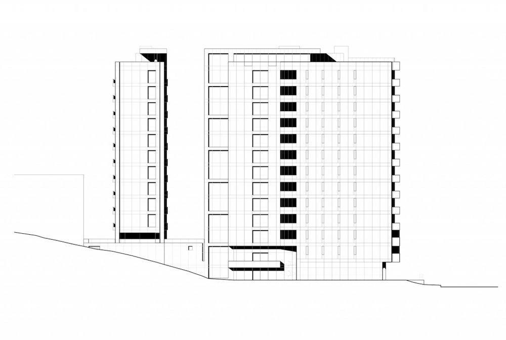 Torre Vitrvm | North Elevation