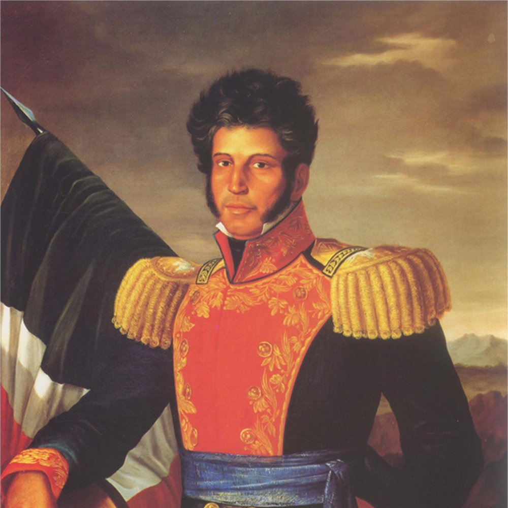 VICEnTE GUERRERO   Vicente Guerrero, the second president of M é xico was of African and Indigenous descent. He is a great national hero. Achieved M é xico's Independence from Spain in 1821, and went on to abolish slavery in 1829.