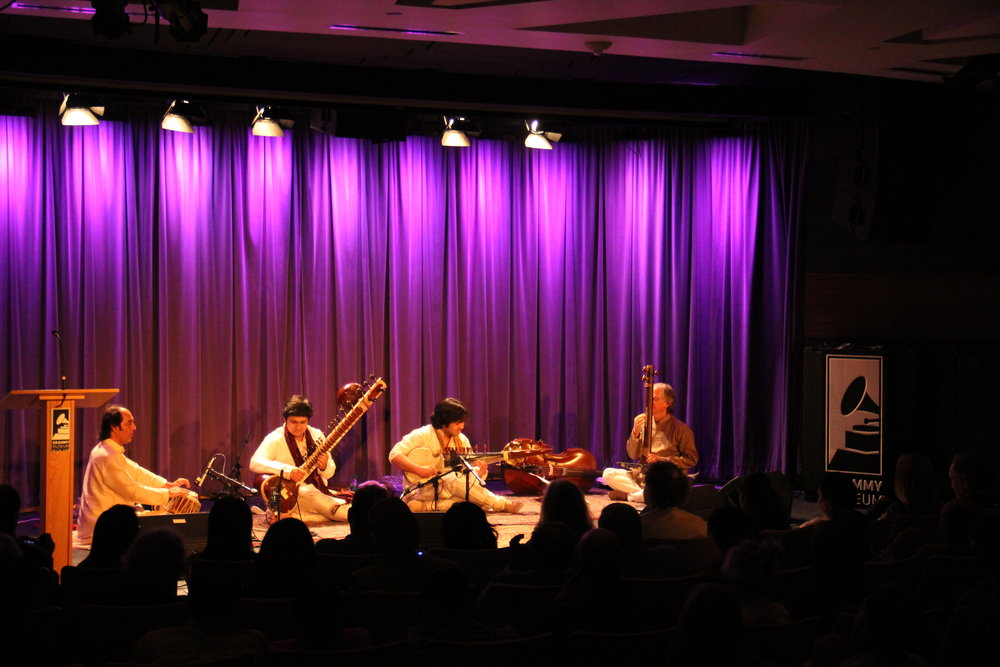 Lakshay Mohan & Aayush Mohan at the GRAMMY Museum, Los Angeles in April 2015