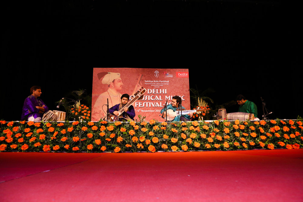 Delhi Classical Music Festival 2015, Kamaani Auditorium