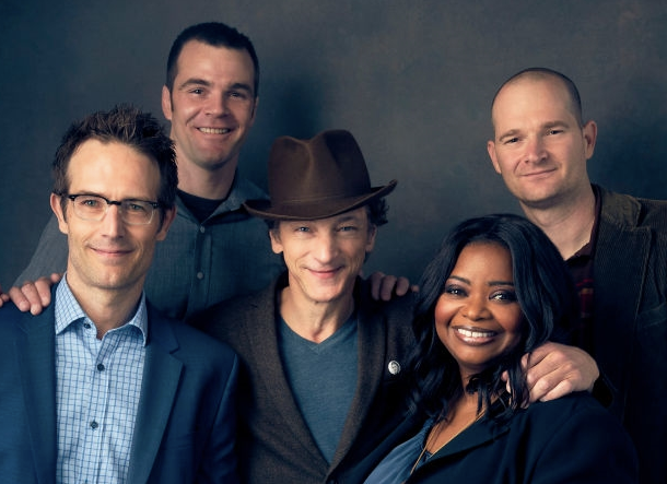 The Wrap: STC Interview - The Wrap interviews the Nelms Bros., John Hawkes, Octavia Spencer, Michael Vartan.
