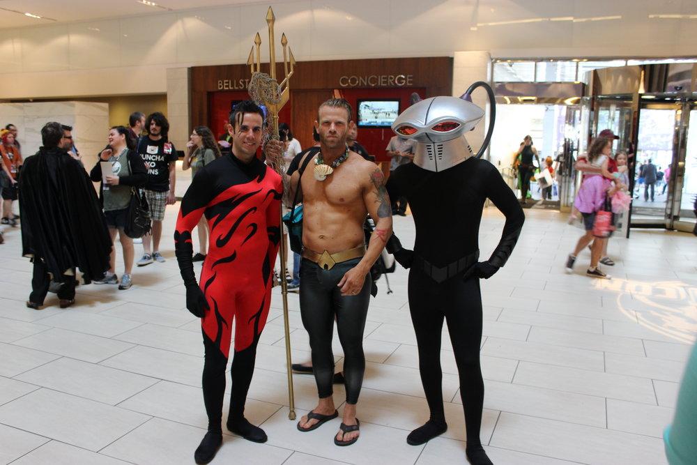 Aquaman & Black Manta