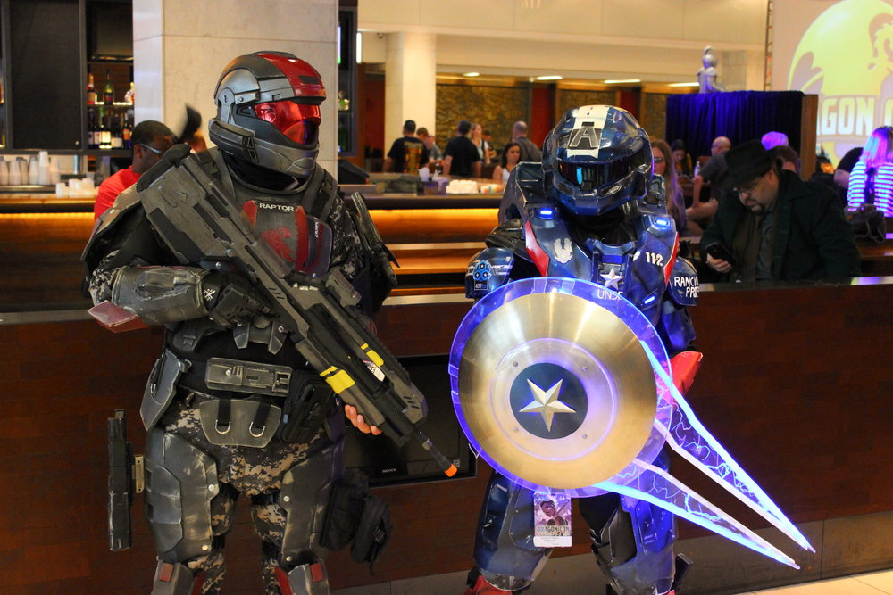 Master Chief and Master Chief America