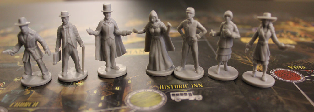 Our heroes, ladies and gentleman. The guy in the top hat is an honest-to-god magician. Like, with a rabbit in his hat and everything. We're doomed.