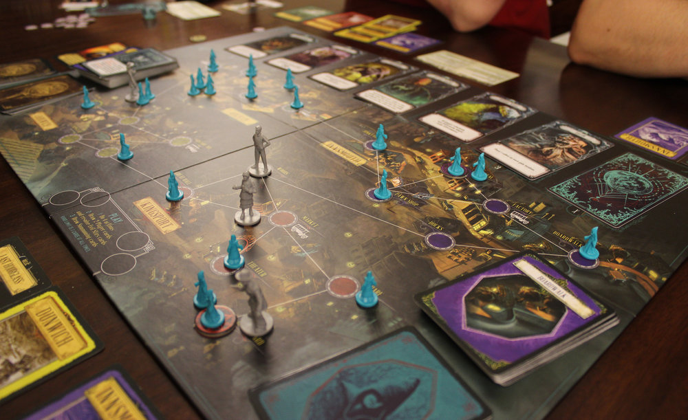 The turn right before we would reveal Cthulhu and lose the game.