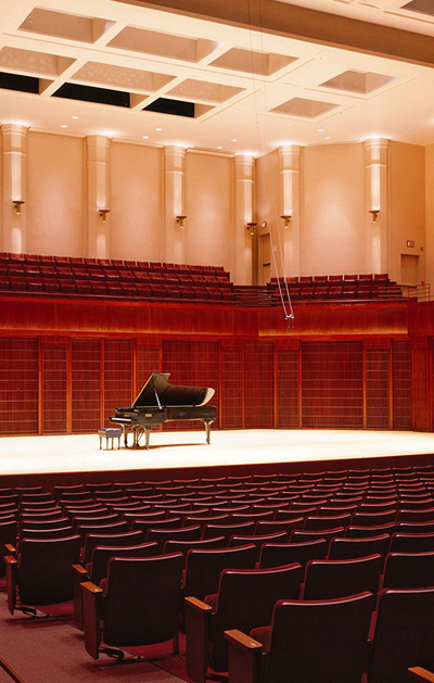 Brahms & Mendelssohn at Stude Concert Hall, Rice University