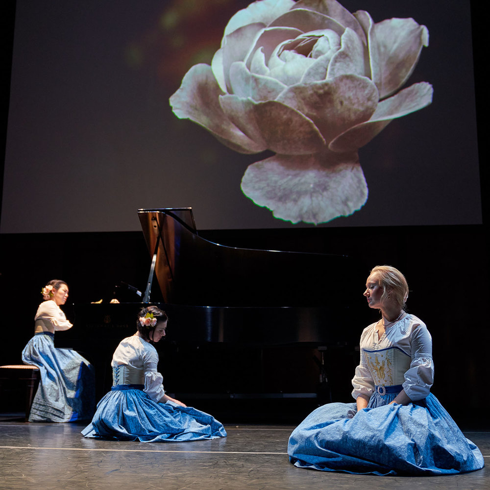 "Mercury's original production ""Loving Clara Schumann"", photo by Runaway Productions"