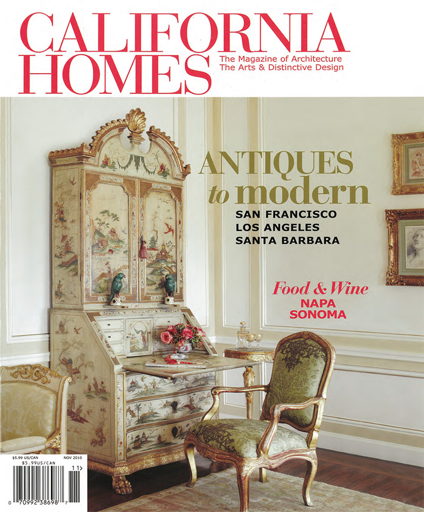 CALIFORNIA HOMES    November 2010   A masterpiece in Montecito