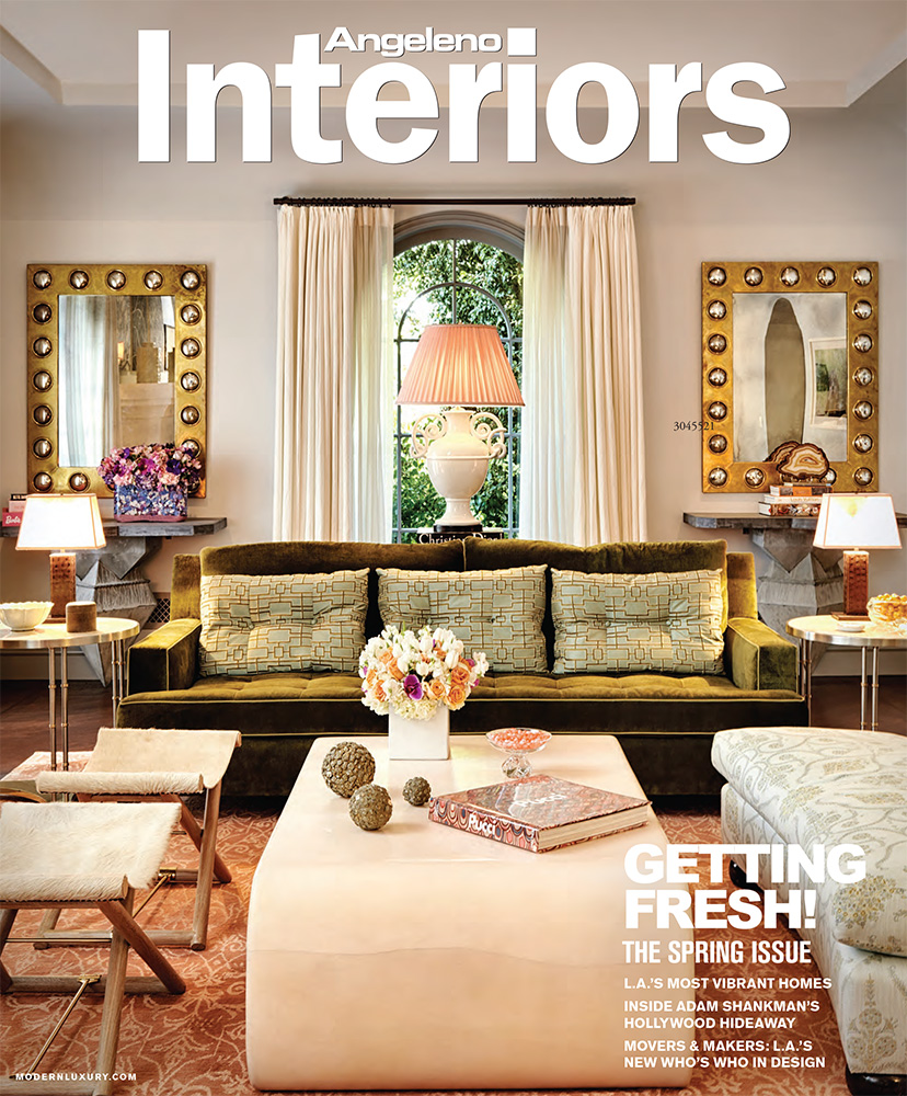 ANGELENO INTERIORS    Spring 2012   Sea Change