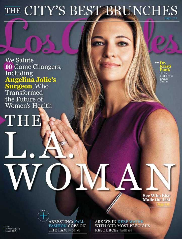 LOS ANGELES MAGAZINE    September 2013   Manhattan Beach