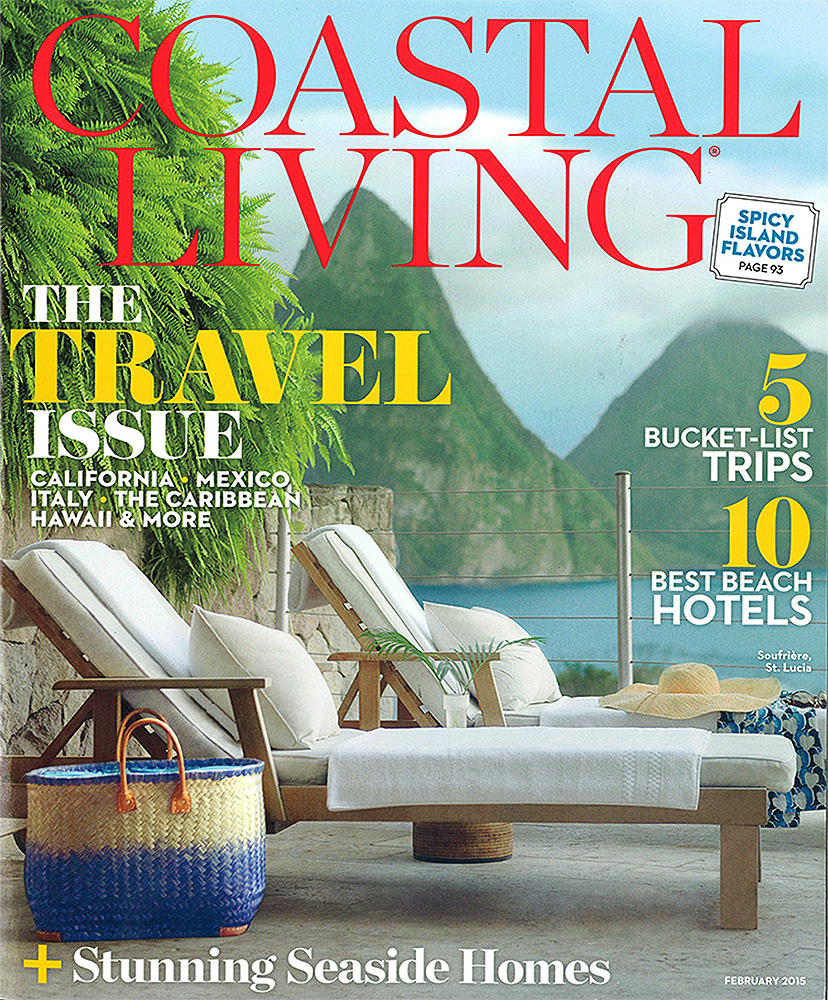 COASTAL LIVING    February 2015   Pacific Breeze